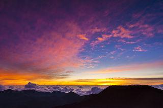 Haleakala Sunrise print