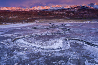 Outflow and Alpenglow