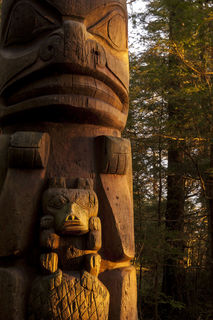 Totem in Light print