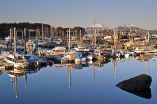 Thompson Harbor, Sitka print