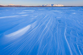 Snow Drifts, Sixmile Lake print