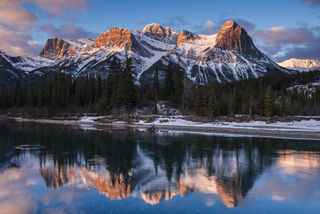 Canmore Morning print