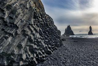 Reynisfjara Rocks print
