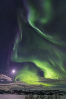Munkefjord Aurora print