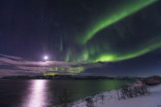 Fjord Aurora print