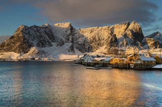 Morning in Lofoten print