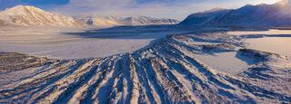 Snow and Dunes print
