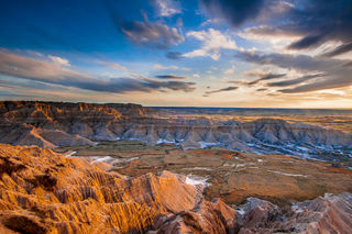 Badlands National Park, South Dakota, Spring, artist-in-residence, landscapes, national park