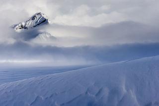 Alaska, Alaska Range, Denali National Park, Sheldon Mountain House, Spring, Talkeetna