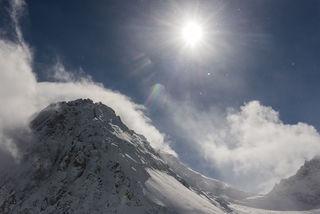 Mountain Weather print