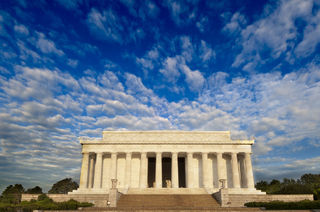 District of Columbia, Lincoln Memorial, National Mall, Washington, morning