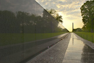 District of Columbia, HDR, National Mall, Vietnam Veterans Memorial, Washington, morning, sunrise