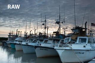 Drift Boats, Dillingham Harbor print