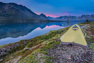 Alaska Alpine Adventures, Bristol Bay, Lake Clark National Park, Twin Lakes, summer