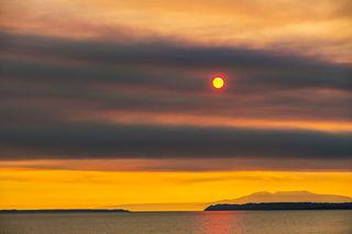 Hazy Sun print