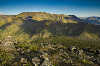 Tombstone Territorial Park, Yukon Territory, alpine, landscape, mountains, summer