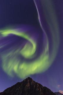 Aurora Swirl print