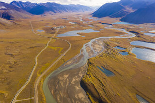 Alaska, Arctic, Autumn, Brooks Range, Dalton Highway, North Slope, Trans-Alaska Pipeline