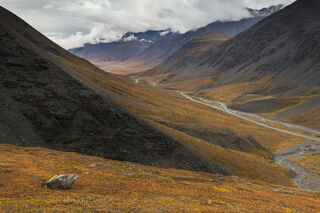 Alaska, Arctic, Atigun River, Autumn, Brooks Range, landscape