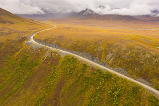 Alaska, Arctic, Autumn, Brooks Range, Chandalar Shelf, Dalton Highway