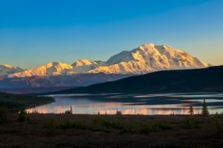 Alaska, Autumn, Denali National Park & Preserve, road lottery