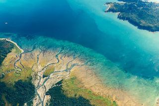 Bristol Bay, Katmai National Park & Preserve, Kukak Bay, Lighthawk, aerial, landscape