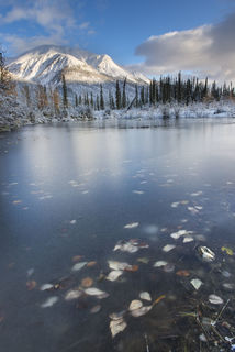 Icy Pond, Brooks Range print