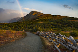 Rainbow Trail print