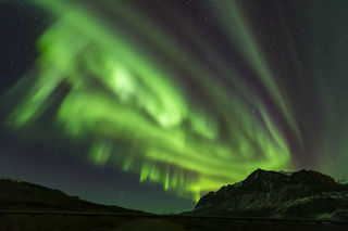 Alaska, Arctic, Autumn, Brooks Range, Trans-Alaska Pipeline, aurora borealis, night sky, northern lights