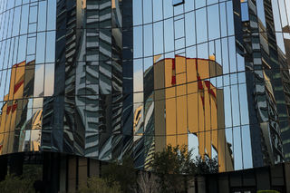 Building Reflections print