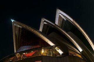 Opera House Close-Up print