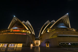 Australia, Sydney, city, cityscape, night sky, nighttime, opera house, waterfront