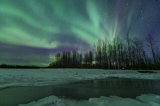 Aurora Flow print