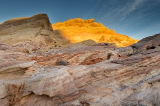 Nevada, Valley of Fire State Park, desert, evening, landscape, winter