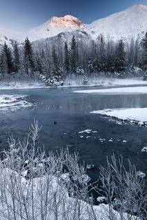 Frosty Portage print