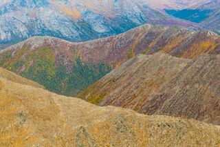Alaska, Arctic, Autumn, Brooks Range, Gates of the Arctic National Park & Preserve, aerial, landscape, national park