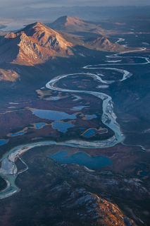 Alaska, Alatna River, Arctic, Autumn, Brooks Range, Gates of the Arctic National Park & Preserve, aerial, landscape, national park