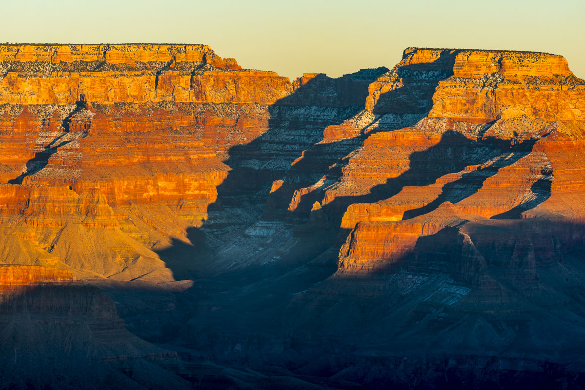 Arizona, Grand Canyon National Park, South Rim, landscape, winter, photo