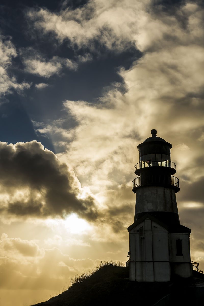 Cape Disappointment, Washington, coast, coastal, landscape, lighthouse, winter, photo