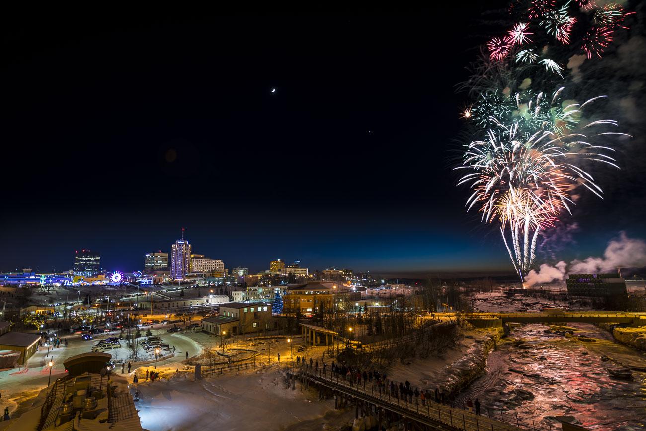 New Year's Pyrotechnics