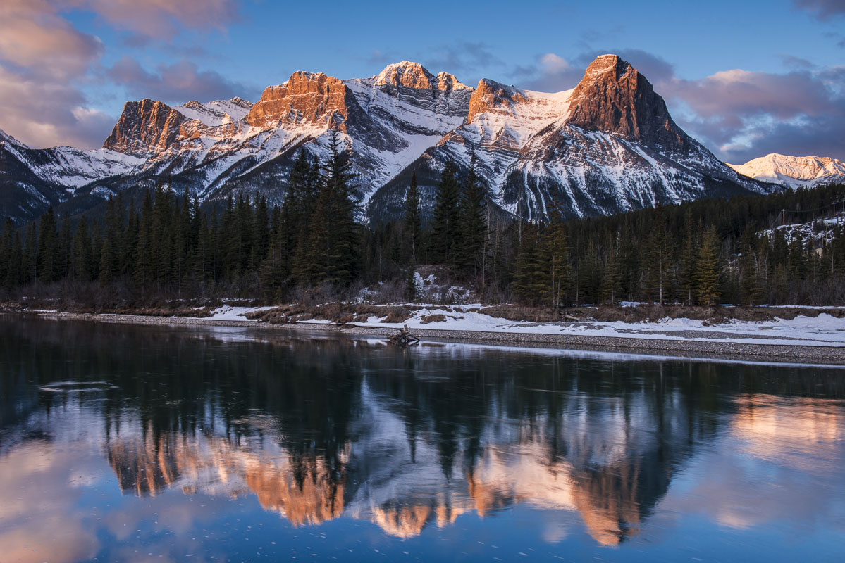 Banff, Canada, Canadian Rocky Mountains, winter, photo