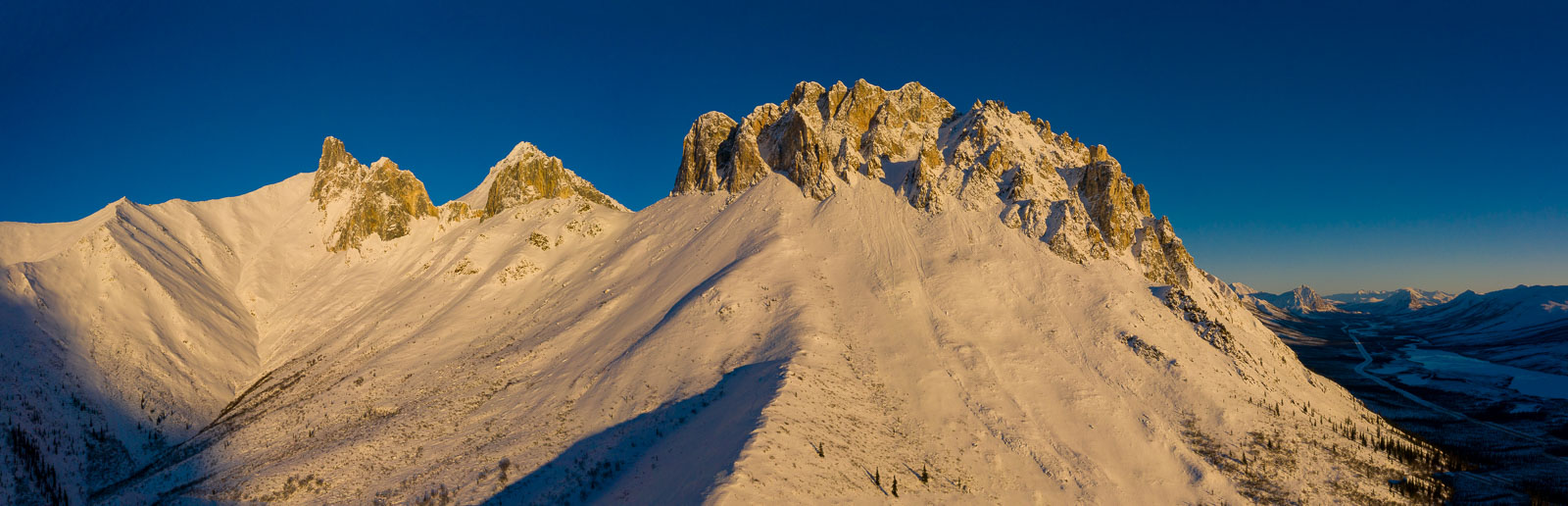 Evening light falls on one of my favorite mountains in the Brooks Range. It has no name, but it has such character.
