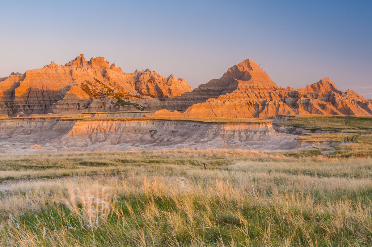 Badlands National Park, South Dakota, Spring, artist-in-residence, landscapes, national park, photo