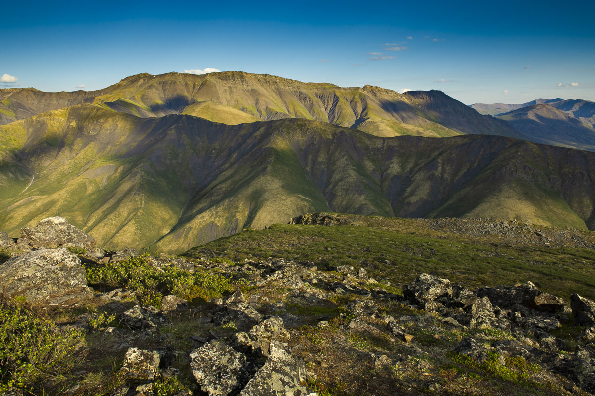 Tombstone Territorial Park, Yukon Territory, alpine, landscape, mountains, summer, photo
