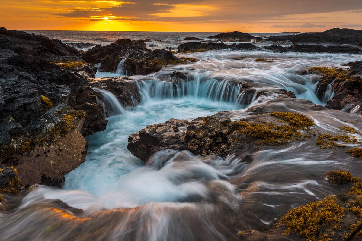 Hawaii, island, summer, tropical