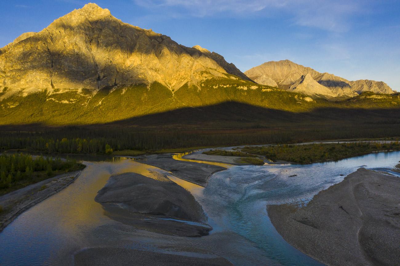Alaska, Arctic, Autumn, Brooks Range, Dietrich River, Mt. Dillon, landscape, photo