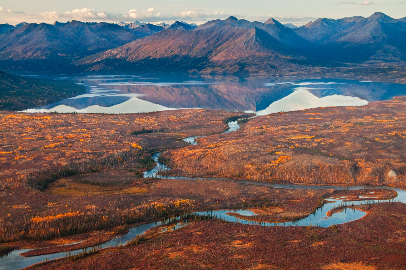 Alaska, Autumn, Gates of the Arctic, USA, aerial, national park, scenery, photo