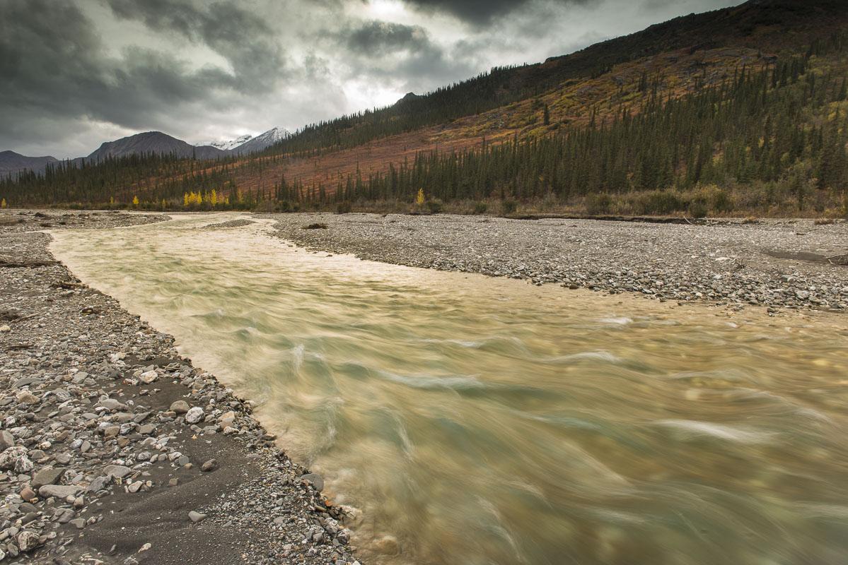 Alaska, Autumn, Brooks Range, Dietrich River, landscape, photo