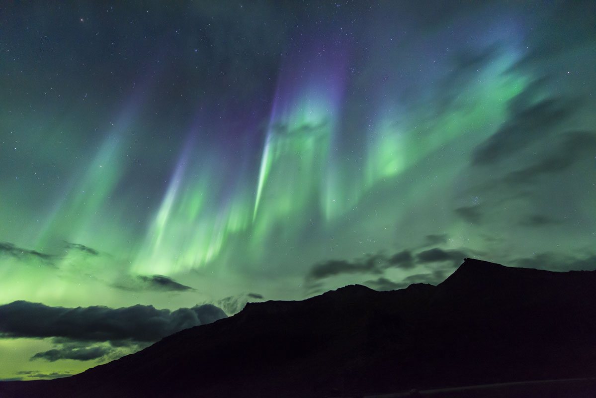 Alaska, Denali National Park & Preserve, aurora borealis, northern lights, photo
