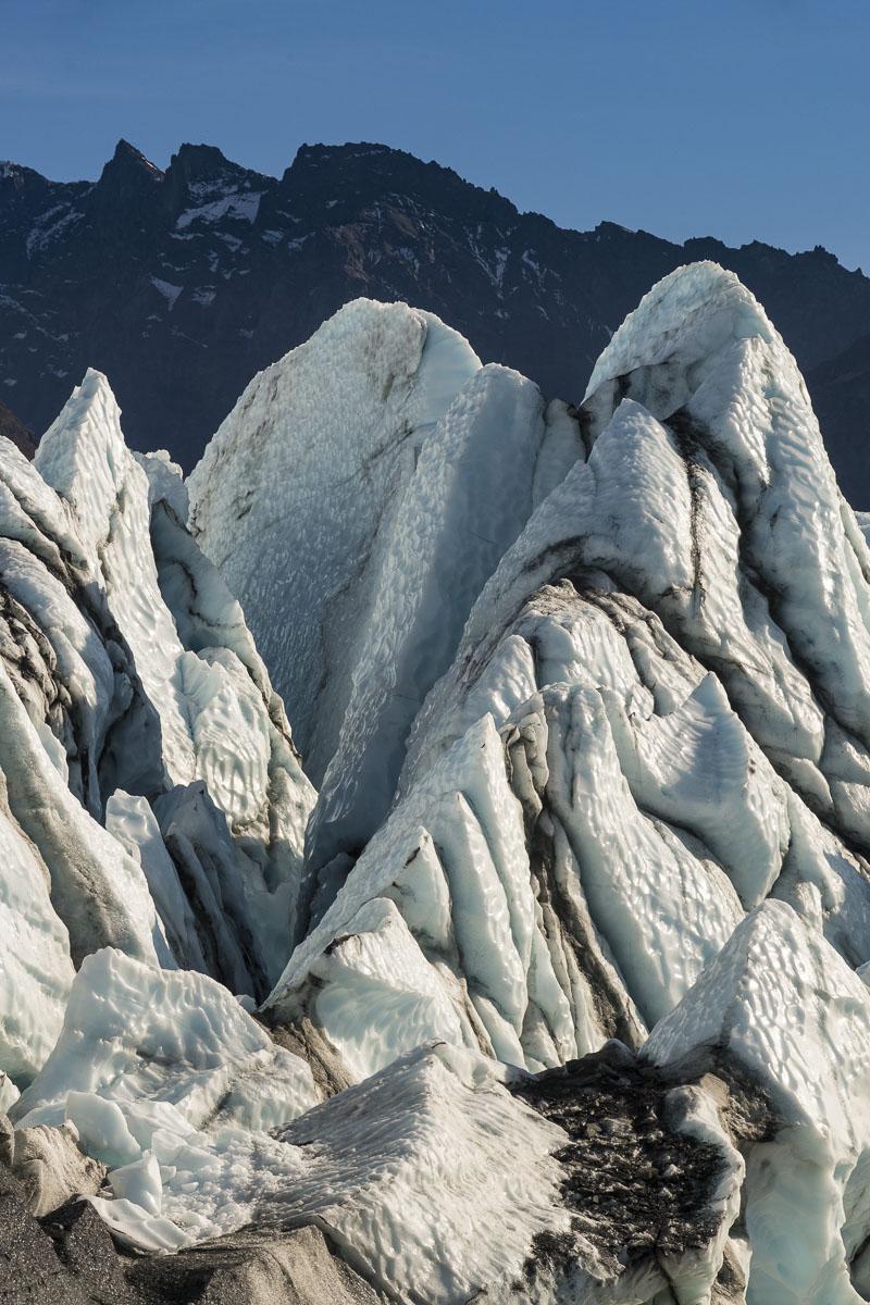 Autumn, Chugach Mountains, Glacier, Matanuska Glacier, photo